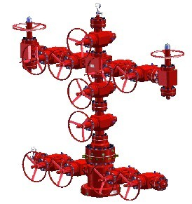 OIL WELLHEAD EQUIPMENT AND CHRISTMAS TREE