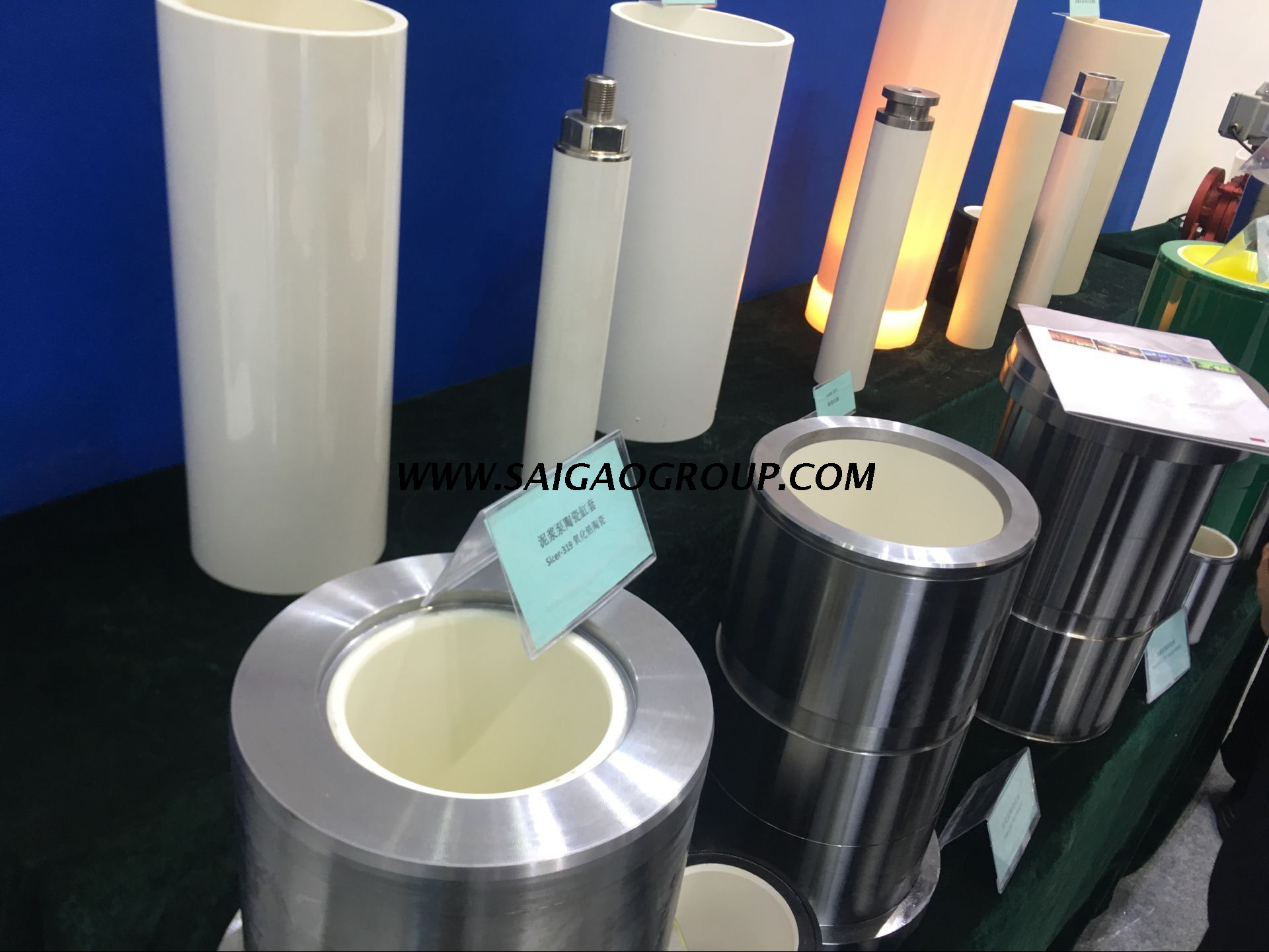Ceramic Cylinder Liners for Pumps